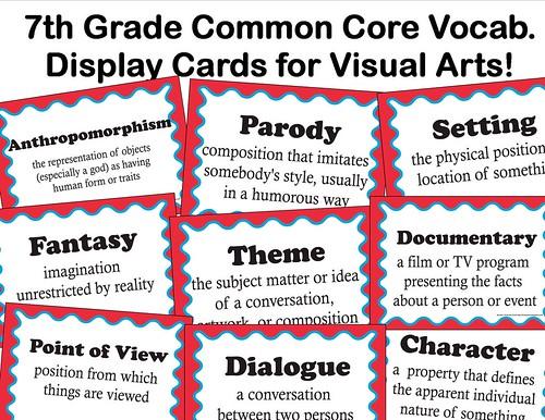 7th grade common core advert