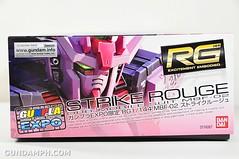 RG 1-144 Strike Rouge Gundam Plamodel EXPO Limited Version Unboxing Photos (2)