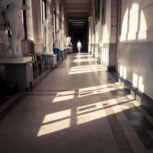 La Galerie des Plâtres (Académie des Beaux-Arts, Liège) - Photo : Gilderic