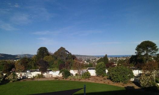 Dunedin from Wakari