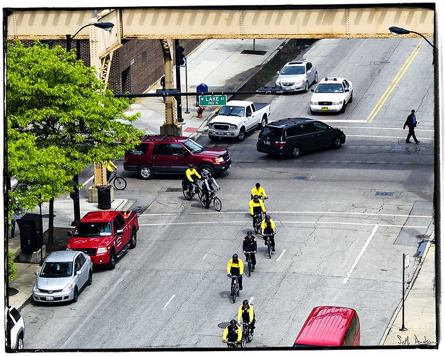 CPD on Bikes -May Day 2012