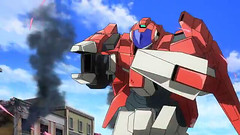 Gundam AGE 3 Episode 30 The Town Becomes A Battlefield Youtube Gundam PH 0013