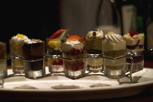 mini indulgence deserts