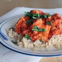 Chicken Tikka Masala and a Simple Rice Pilaf