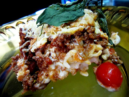 Melissa's baked pasta - one serving