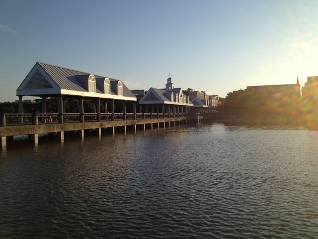 Charleston Waterfront Park Pier