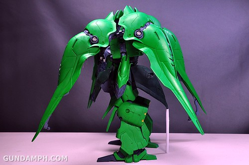 1-100 Kshatriya Neograde Version Colored Cast Resin Kit Straight Build Review (112)