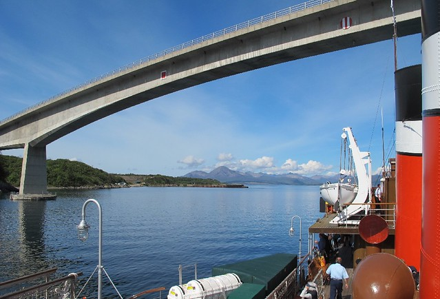 Leaving Kyle of Lochalsh
