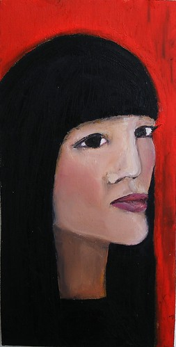 Oil painting portrait wip