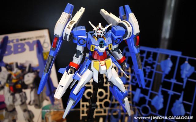 51st Shizuoka Hobby Show - HG Gundam AGE-2 Artemis Parts