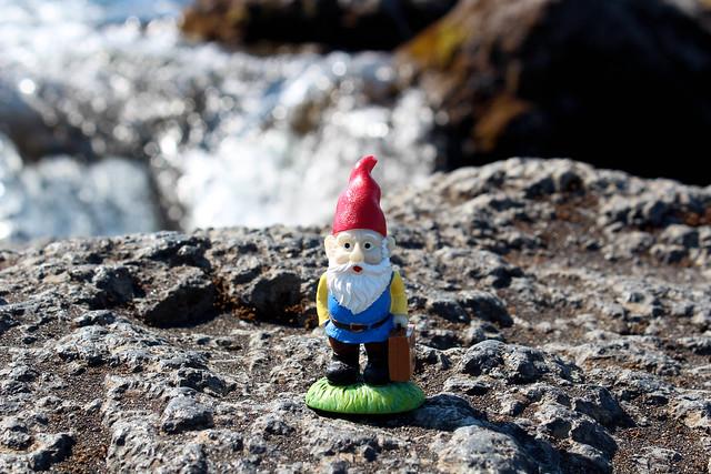 Cedric at Goðafoss
