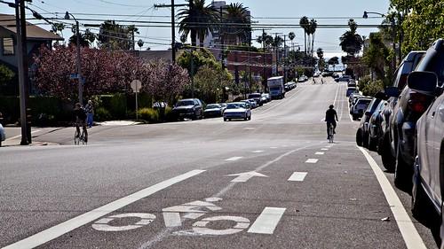 Bicknell Buffered Bike Lane