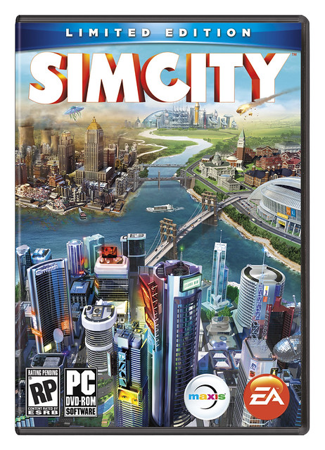 SimCity Limited Edition Box Art REVEALED!!!