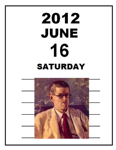 Bloomsday 2012