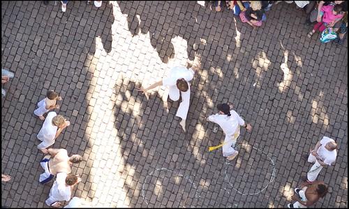 Capoeira auf dem Martin-Luther-Platz