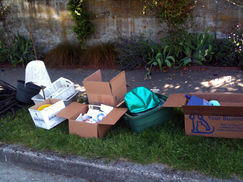 Curbside free boxes