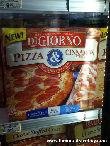 DiGiorno Pizza & Cinnamon Sticks