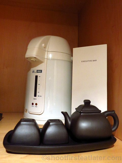 Grand Hyatt Taipei- electric hot water pot
