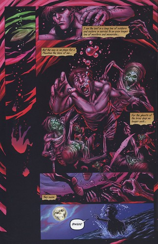 The Phantom dreams - comic book art from The Last Phantom #11.