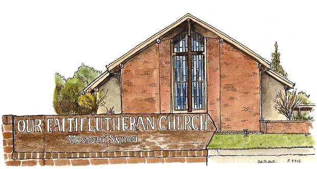 lutheran church, north davis