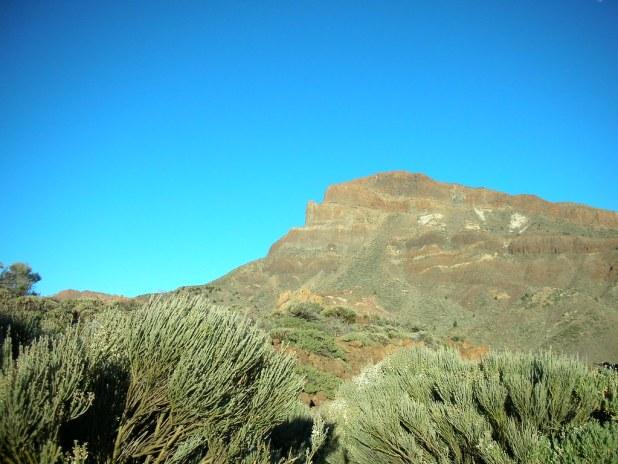 Sendero de Guajara en el Parque Nacional del Teide