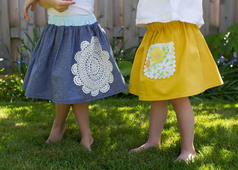 little skirts with vintage flair tutorial