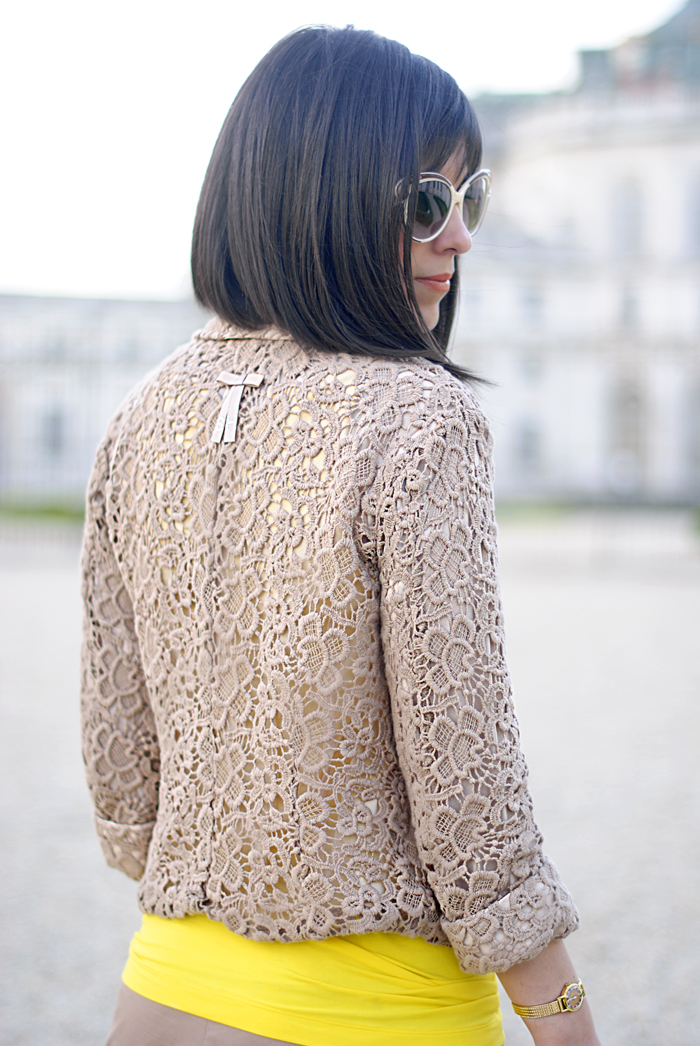 The lace jacket