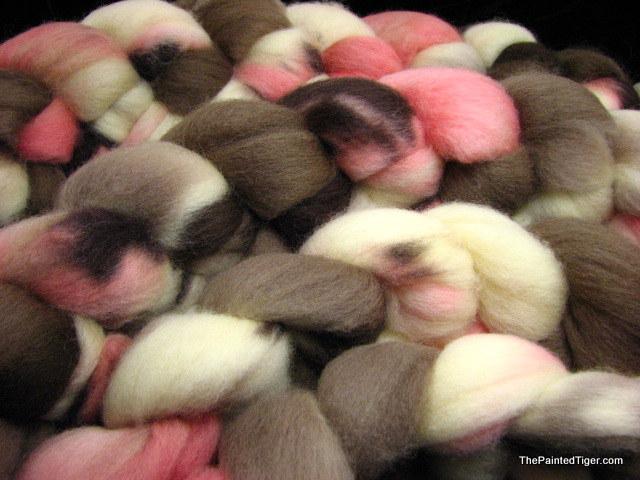 Neapolitan - Corriedale Wool Top