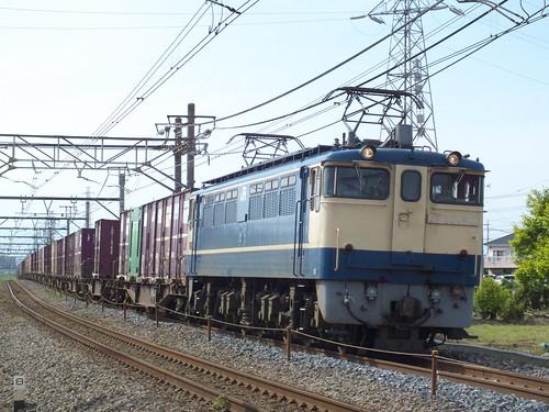 EF65 1119 @岡部〜本庄