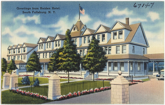 Greetings From Heiden Hotel South Fallsburg N Y