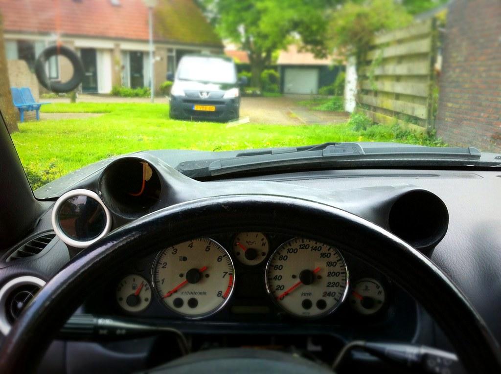 custom dashboard gauge holder