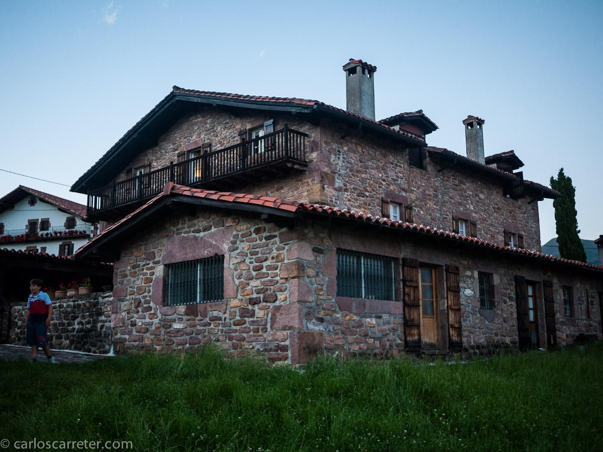 Casa Indaburúa y alrededores