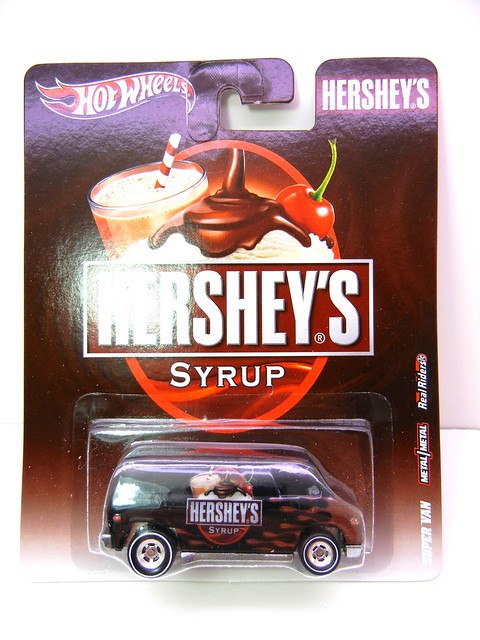hot wheels nostalgia hersheys syrup super van (1)
