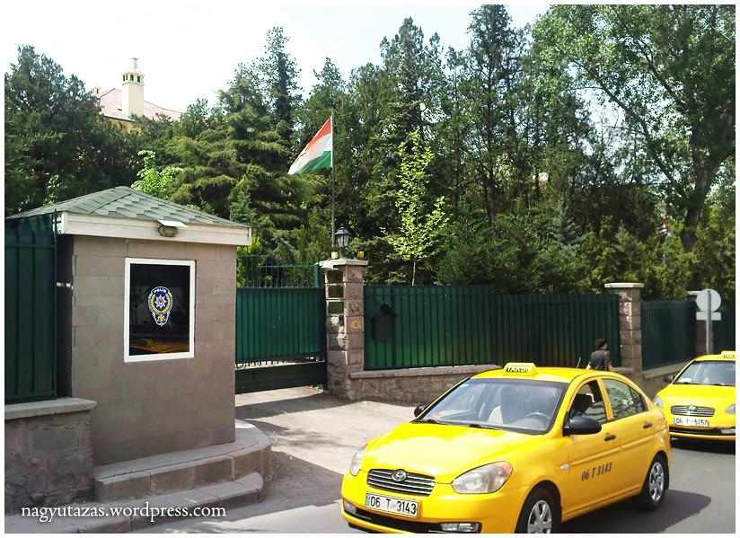 A magyar nagykövetség rezidenciája