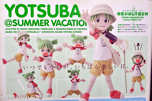 Revoltech Yotsuba DX Summer Vacation Set Unboxing Review Pictures GundamPH (9)