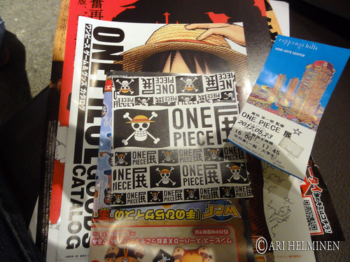 One Piece exhibition in Roppongi Hills