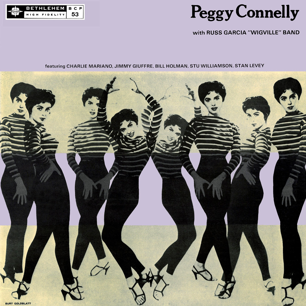 Peggy Connelly with Russ Garcia