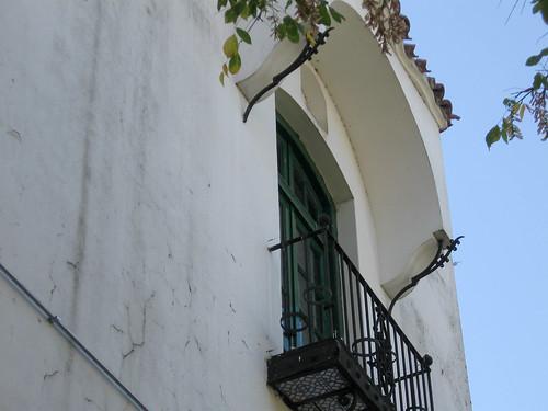 Museo Larreta balcony