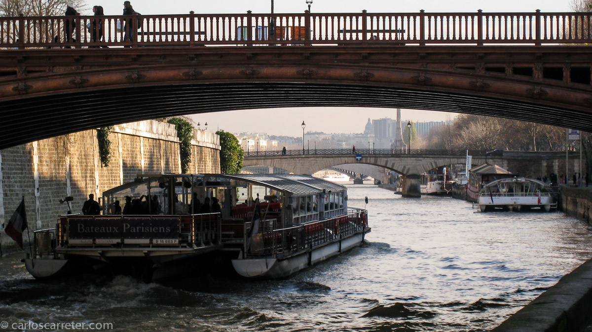 Bateau Mouche en el Sena