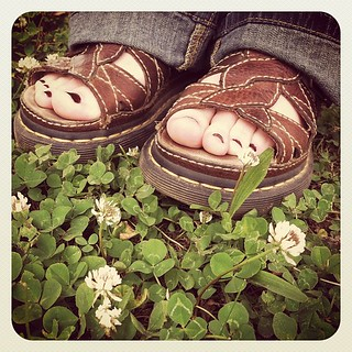 Love my #drmartens sandals #photoadaymay #somethingyouworetoday