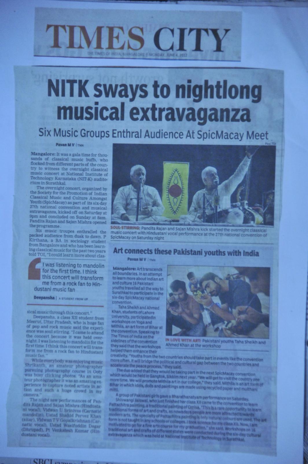 NITK sways to nightlong musical extravaganza?!