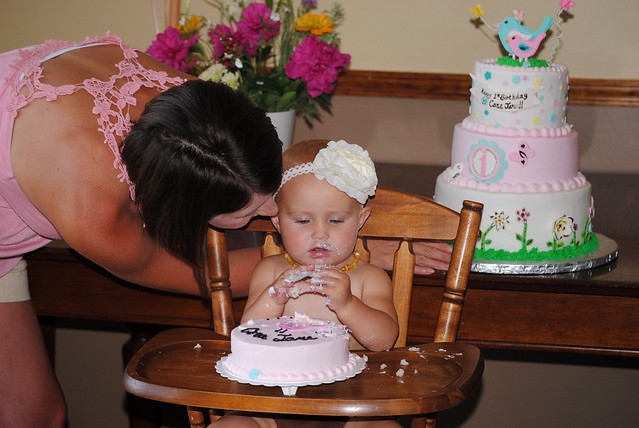 1st birthday party 093