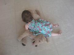 Mersina immobilising the pup