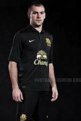 Everton FC Nike 2012/13 Away Soccer Jersey / Football Kit
