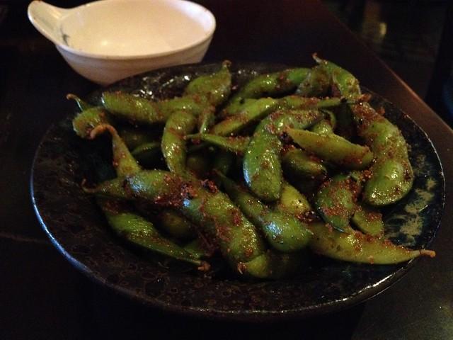 Spicy edamame - Barracuda Sushi
