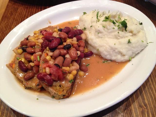 Marisha's turkey chili meatloaf - Fork Cafe