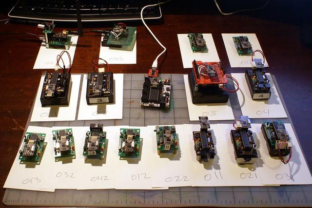 Rf network for wireless sensor networking maniacbug