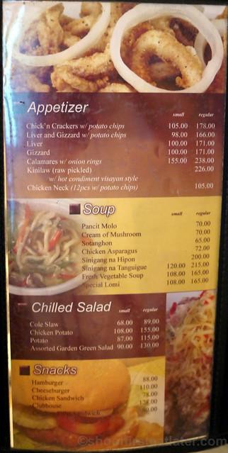 Sunburst Fried Chicken menu (Cebu)-003