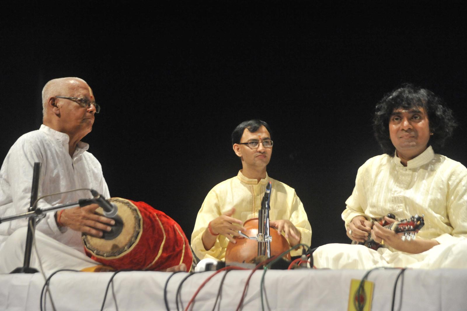 U.Srinivas continues his ascendancy