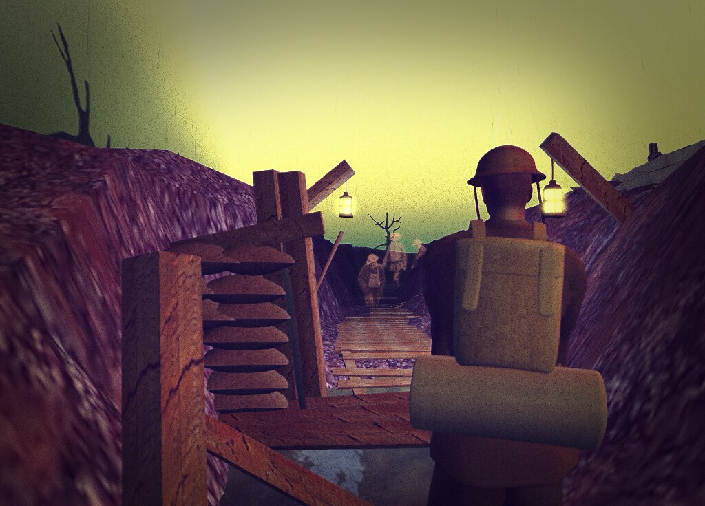The Western Front, 1917, in SL: the trenches
